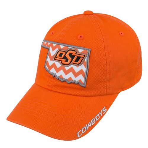Top of the World Women's Oklahoma State University Chevron Cap - view number 2