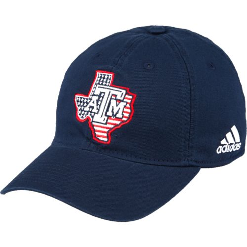 adidas™ Men's Texas A&M University 9/11 Memorial Game Slouch Adjustable Cap