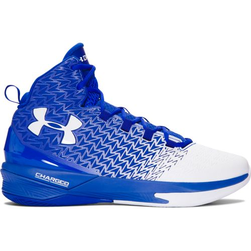 Mens White Under Armour Shoes High Tops