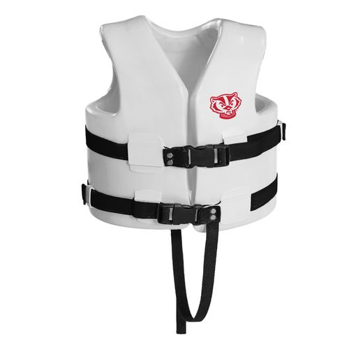 TRC Recreation Kids' University of Wisconsin Super Soft™ Life Vest - view number 1