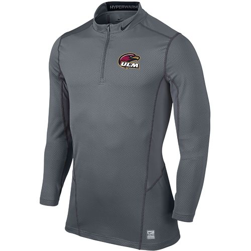 Nike™ Men's University of Louisiana at Monroe Hyperwarm 1/4 Zip Pullover