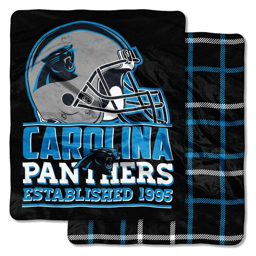 The Northwest Company Carolina Panthers I-Cloud Throw