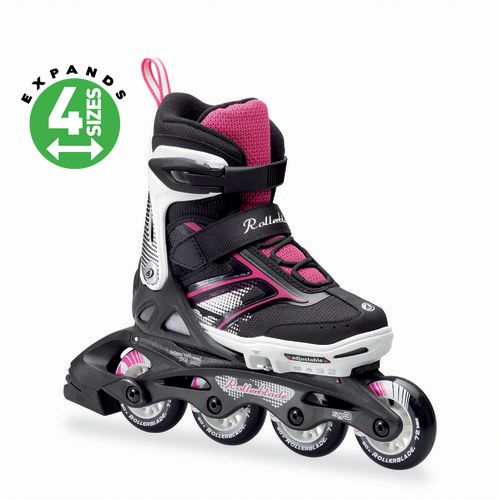 Rollerblade Girls' Spitfire XT In-Line Adjustable Skates