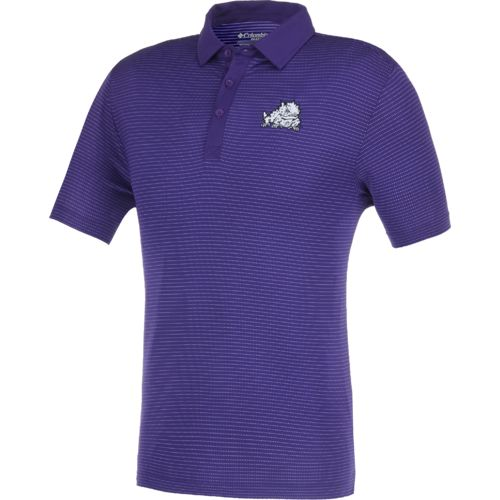 Columbia Sportswear™ Men's Texas Christian University Omni-Wick™ Sunday Polo Shirt