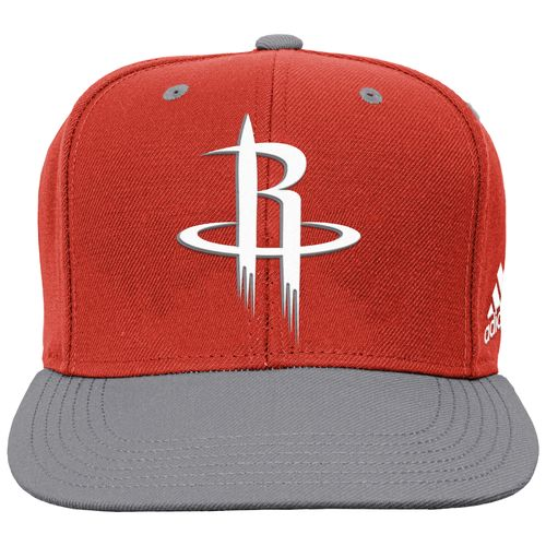 adidas Boys' Houston Rockets On Court Snapback Cap - view number 1