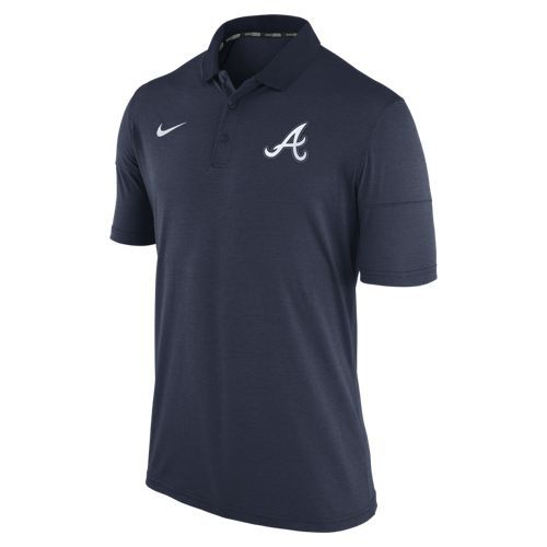 Nike Men's Atlanta Braves Short Sleeve Polo Shirt