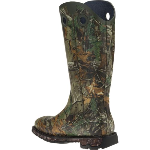 Ariat Men's Conquest Buckaroo Realtree Xtra® Rubber Hunting Boots - view number 3