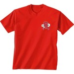 New World Graphics Women's North Carolina State University Bright Plaid T-shirt - view number 2