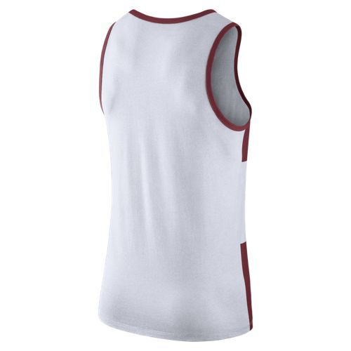 Nike™ Men's University of Arkansas Stripe Tank Top - view number 2
