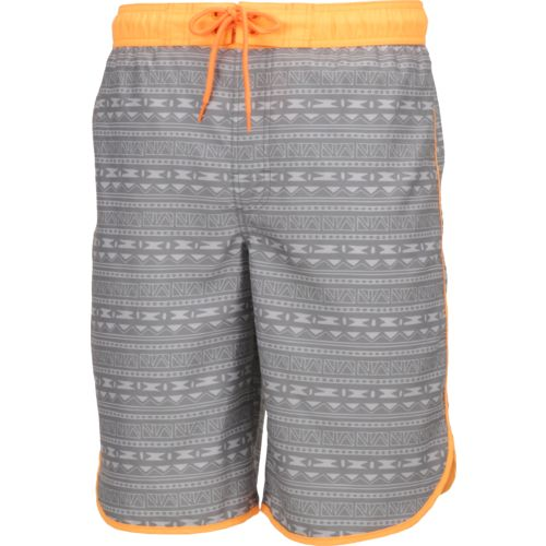 O'Rageous® Men's Geo Aztec Scalloped Boardshort