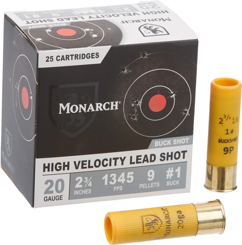 Display product reviews for Monarch 20 Gauge Buckshot
