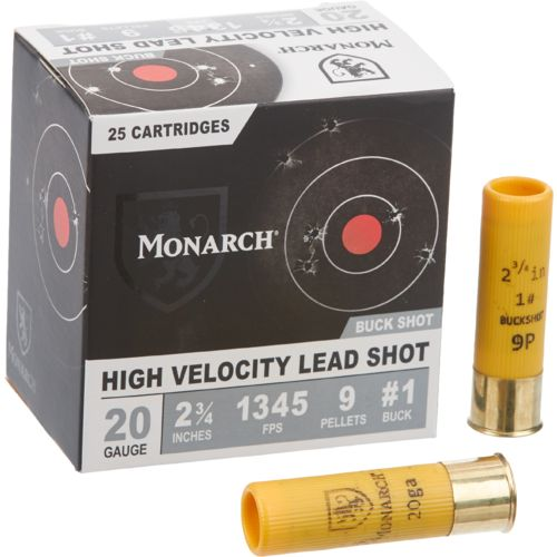 Monarch 20 Gauge Buckshot