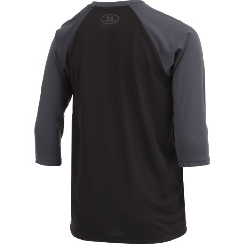 Under Armour Boys' BSBL Diamond 3/4 Sleeve T-shirt - view number 2