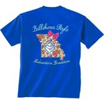 New World Graphics Women's Saint Louis University Bright Bow Short Sleeve T-shirt - view number 1