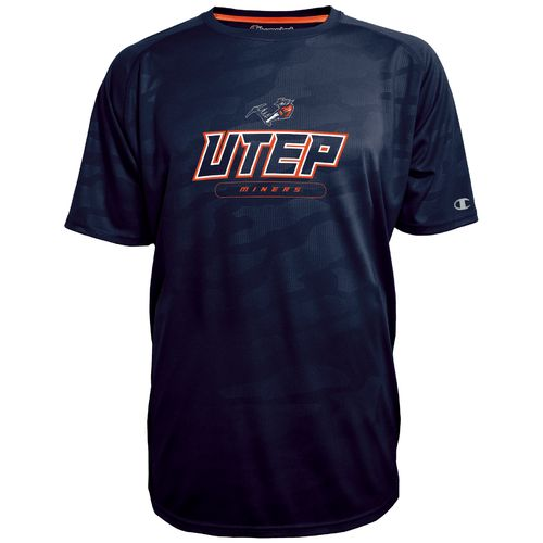 Champion™ Men's University of Texas at El Paso Impact Embossed T-shirt