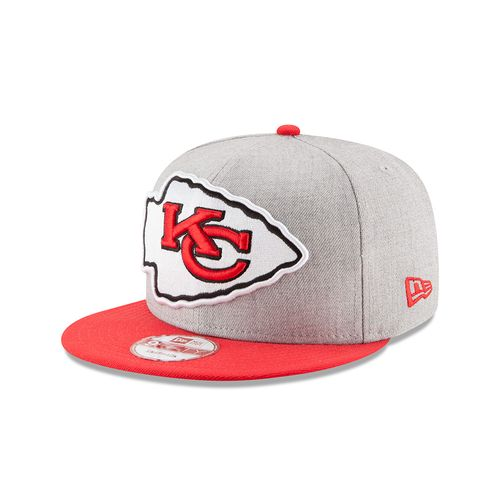 New Era Men's Kansas City Chiefs Heather 9FIFTY® Grand Snap Cap