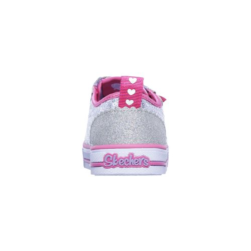 SKECHERS Toddlers' Twinkle Toes Shuffles Itsy Bitsy Casual Shoes - view number 4