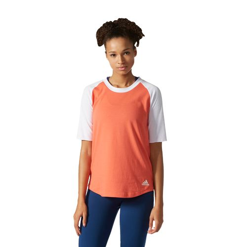 adidas Women's Baseball Short Sleeve Top - view number 6