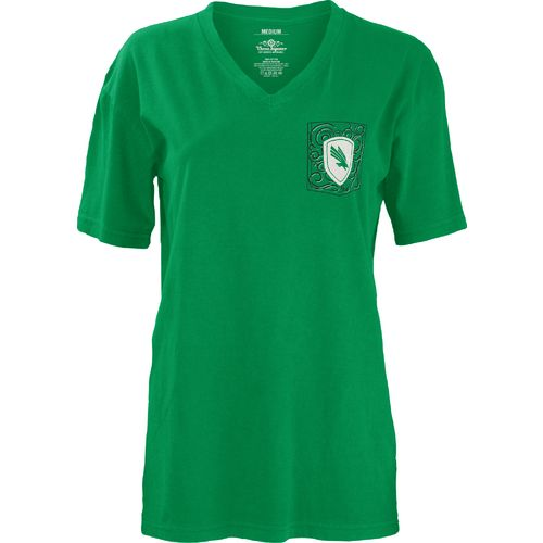 Three Squared Juniors' University of North Texas Anchor Flourish V-neck T-shirt - view number 2