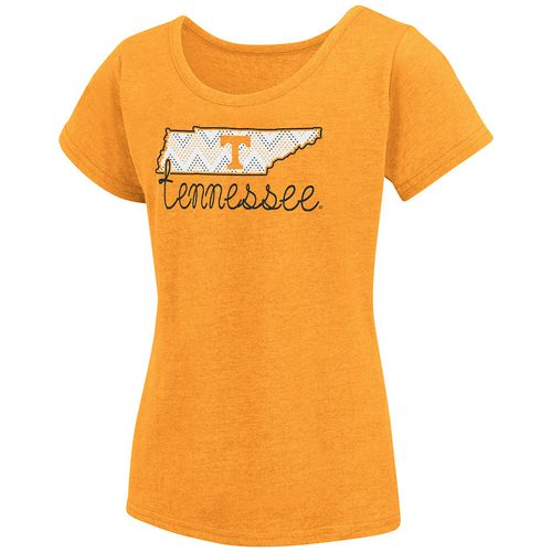 Colosseum Athletics™ Girls' University of Tennessee Tissue 2017 T-shirt - view number 1