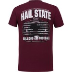 New World Graphics Men's Mississippi State University Football Schedule '17 T-shirt - view number 1