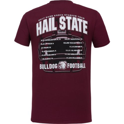 New World Graphics Men's Mississippi State University Football Schedule '17 T-shirt