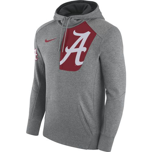 Nike Men's University of Alabama Fly Fleece Pullover Hoodie