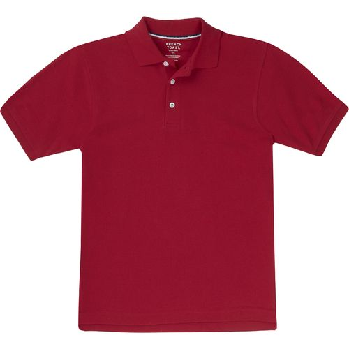 French Toast Toddler Boys' Short Sleeve Pique Polo Uniform Shirt