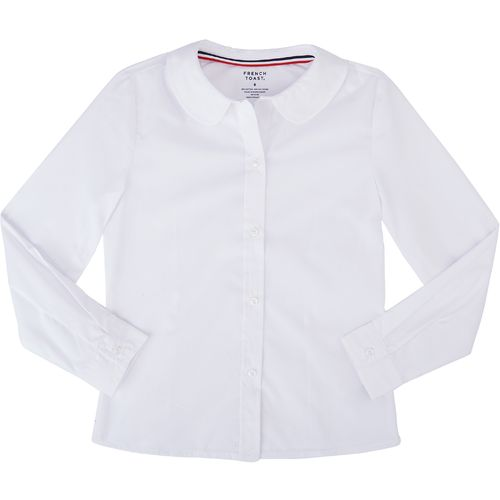French Toast Toddler Girls' Modern Peter Pan Long Sleeve Blouse