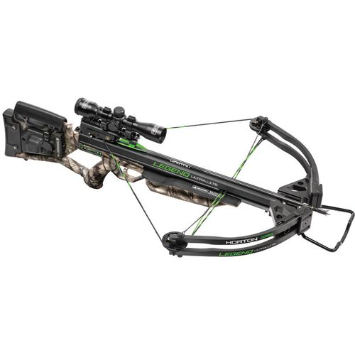 Horton Legend Ultralight Camo Compound Crossbow with ACUdraw 50
