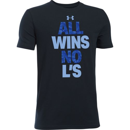 Under Armour Boys' All Wins Short Sleeve T-shirt