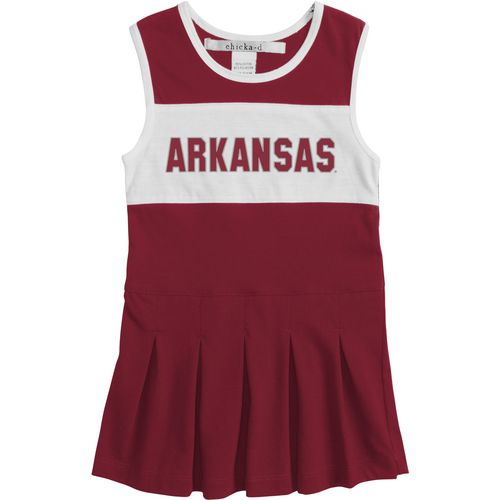 Chicka-d Girls' University of Arkansas Cheerleader Dress