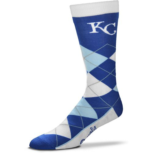 For Bare Feet Men's Originals Kansas City Royals Argyle Socks - view number 1