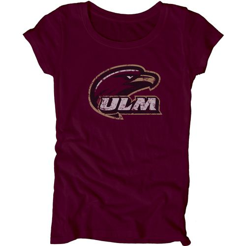 Blue 84 Juniors' University of Louisiana at Monroe Mascot Soft T-shirt