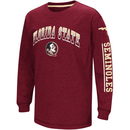 Colosseum Athletics Boys' Florida State University Grandstand Long Sleeve T-shirt