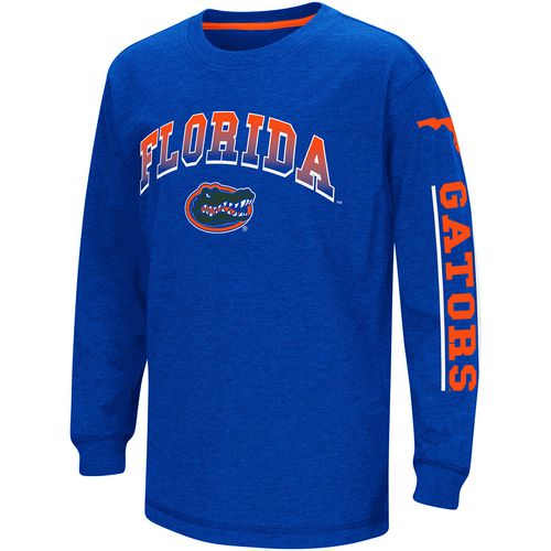 Colosseum Athletics Boys' University of Florida Grandstand Long Sleeve T-shirt