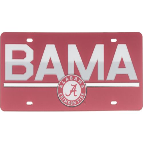 Stockdale University of Alabama Duo-Tone License Plate - view number 1