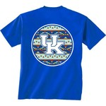 New World Graphics Women's University of Kentucky Logo Aztec T-shirt - view number 1