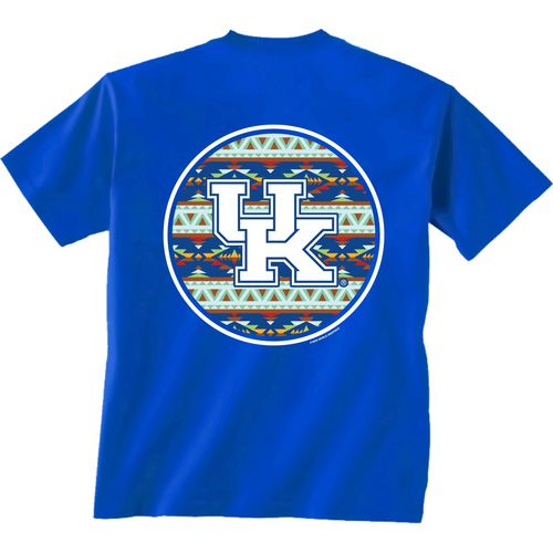 New World Graphics Women's University of Kentucky Logo Aztec T-shirt