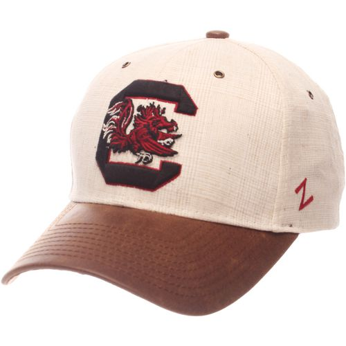 Zephyr Men's University of South Carolina Havana Curved Bill 2-Tone Cap