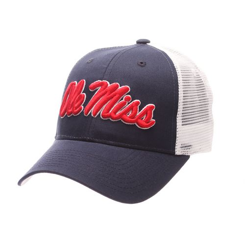 Zephyr Men's University of Mississippi Big Rig 2-Tone Mesh Back Cap