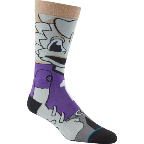 Stance Men's Texas Christian University Super Frog Team Mascot Socks