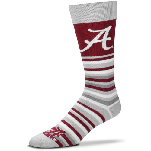 For Bare Feet University of Alabama Lotta Stripe Thin Knee High Dress Socks