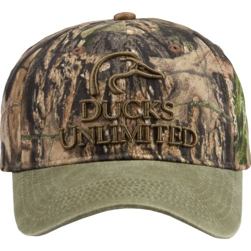 Mossy Oak Men's Ducks Unlimited Camo Cap