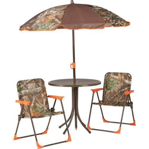 Display product reviews for Mosaic Realtree Xtra Camo 4-Piece Patio Set