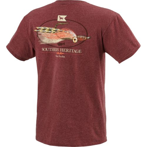 Southern Heritage Men's Redfish Fly T-shirt - view number 2