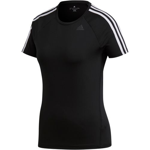 adidas Women's D2M 3-Stripes T-shirt - view number 3