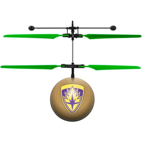World Tech Toys Marvel Licensed Guardians of the Galaxy Baby Groot IR UFO Ball Helicopter - view number 2