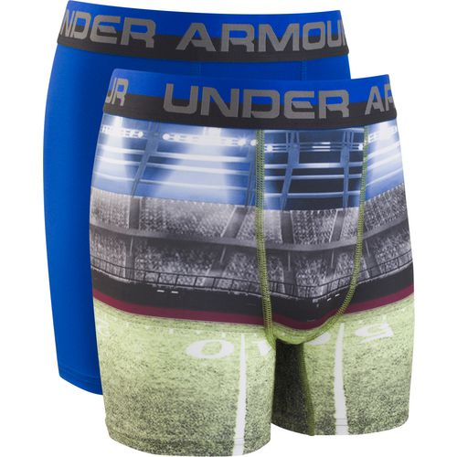 Under Armour Boys' Football Sublimation Boxer Briefs 2-Pack - view number 1