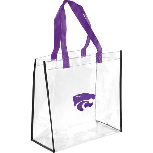 Forever Collectibles Kansas State University Clear Reusable Bag